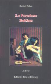 Paradoxe de balthus (le) - Couverture - Format classique