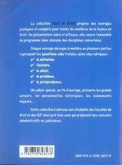 Droit constitutionnel (3e édition) - 4ème de couverture - Format classique