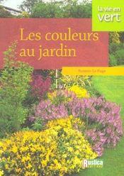 Les couleurs au jardin - Intérieur - Format classique