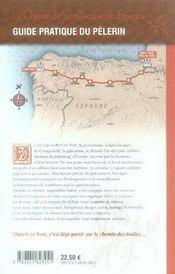 Le chemin de saint-jacques en espagne - 4ème de couverture - Format classique