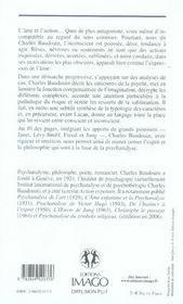L'âme et l'action ; prémisses d'une philosophie de la psychanalyse - 4ème de couverture - Format classique