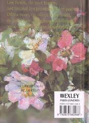 Bouquet de fleurs - 4ème de couverture - Format classique