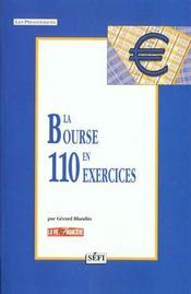 La bourse en 110 exercices - Intérieur - Format classique