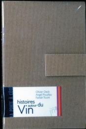 Histoires autour du vin - Couverture - Format classique