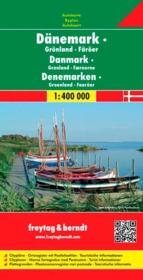 Danemark, Groenland, îles Feroe - Couverture - Format classique