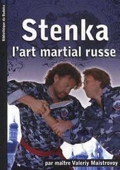 Stenka ; l'art martial russe - Couverture - Format classique