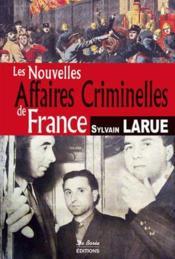 France ; nouvelles affaires criminelles - Couverture - Format classique