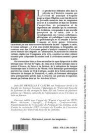 De la table des dieux à la table des hommes ; la symbolique de l'alimentation dans l'Antiquité romaine - 4ème de couverture - Format classique