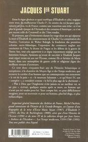 Jacques ier stuart - 4ème de couverture - Format classique