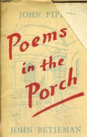 Poems In The Porch - Couverture - Format classique