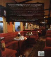 À bord des trains mythiques ; de l'Orient-Express au Transsibérien - 4ème de couverture - Format classique