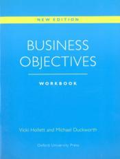 Business objectives: workbook - Couverture - Format classique