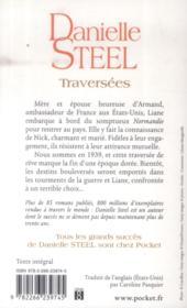 Traversées - 4ème de couverture - Format classique