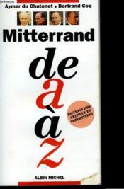 Mitterrand De A A Z - Couverture - Format classique
