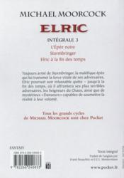 Elric ; intégrale t.3 - 4ème de couverture - Format classique