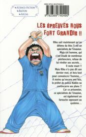 Prisonnier Riku T.8 ; l'épreuve - 4ème de couverture - Format classique