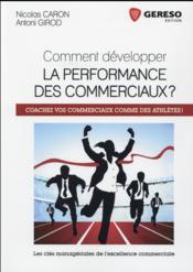 Comment développer la performance des commerciaux ? - Couverture - Format classique