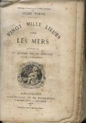 Vingt Mille Lieues Sous Les Mers / Collection Bibliotheque D'Education Et De Recreation - Couverture - Format classique