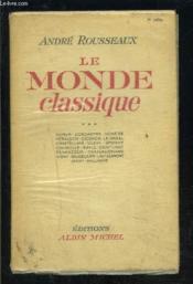 Le Monde Classique- Tome 1- 1 Seul Volume - Couverture - Format classique