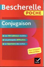 Bescherelle ; poche conjugaison - Couverture - Format classique