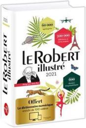 Dictionnaire le Robert illustré et son dictionnaire en ligne (édition 2021) - Couverture - Format classique