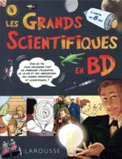 Les grands scientifiques en BD - Couverture - Format classique