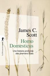 Homo domesticus ; une histoire profonde des premiers Etats - Couverture - Format classique