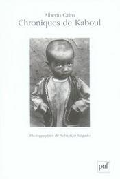 Chroniques de Kaboul - Intérieur - Format classique