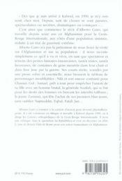 Chroniques de Kaboul - 4ème de couverture - Format classique