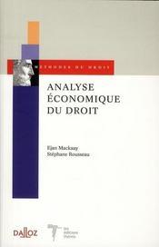 Analyse économique du droit - Intérieur - Format classique