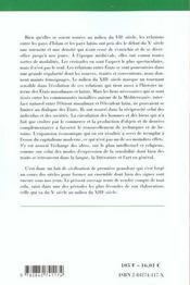 Les relations des pays d'islam avec le monde latin ; du X siècle au milieu du XIII siècle - 4ème de couverture - Format classique