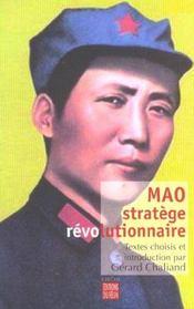 Mao stratege revolutionnaire - Intérieur - Format classique