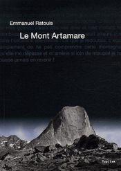 Le Mont Artamare - Couverture - Format classique