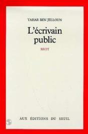 L'ecrivain public - Couverture - Format classique