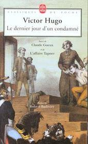 Le Dernier Jour D'Un Condamne - Intérieur - Format classique