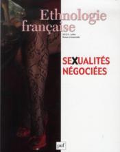 Revue D'Ethnologie Francaise N.3 ; Sexualités Négociées (Edition 2013) - Couverture - Format classique