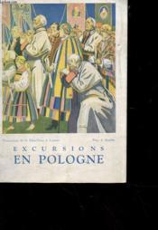 Excursions En Pologne - Services Des Cheques De Voyages - Couverture - Format classique