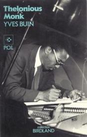 Thelonious Monk. - Couverture - Format classique