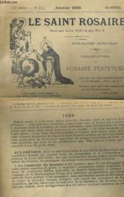 Le Saint Rosaire 44e Annee - N°514 - Couverture - Format classique