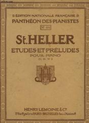 St. Heller, Etudes Et Preludes Pour Piano N° 875 - Couverture - Format classique