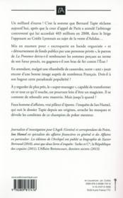 Notre ami Bernard Tapie - 4ème de couverture - Format classique