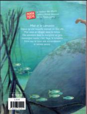 Maé et le lamantin - 4ème de couverture - Format classique