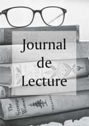 Journal de lecture - Couverture - Format classique