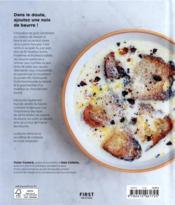 La cuisine au beurre - 4ème de couverture - Format classique