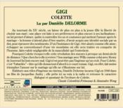 Gigi - 4ème de couverture - Format classique