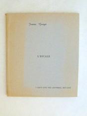 (lot de 2 livres) Premiers Poèmes. - L'Escale - Couverture - Format classique