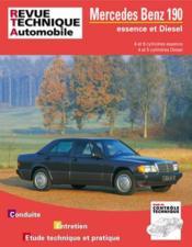 Rta 465.4 Mercedes 190 (82-94) Essence Et Diesel - Couverture - Format classique