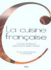 La cuisine française - Intérieur - Format classique