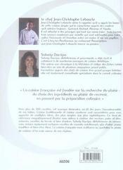 La cuisine française - 4ème de couverture - Format classique