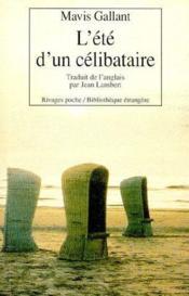 L'Ete D'Un Celibataire - Couverture - Format classique